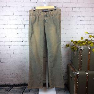 Joe's Jeans straight leg fine corduroy pants tall